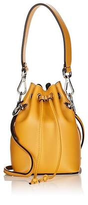 Fendi Women's Mon Tresor Mini Leather Bucket Bag - Zucca