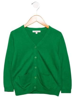 Caramel Baby & Child Girls' Long Sleeve Button-Up Cardigan