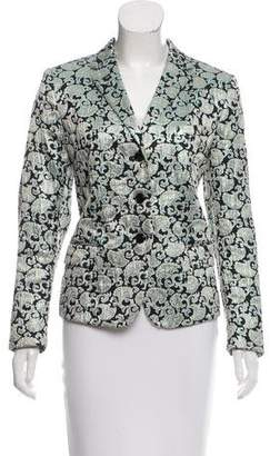 Dries Van Noten Metallic-Accented Blazer
