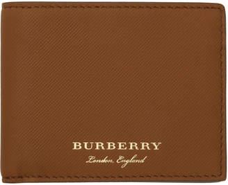 Burberry Tan Hipfold Wallet