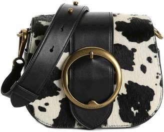 Polo Ralph Lauren Haircalf Lennox Leather Crossbody Bag - Women's
