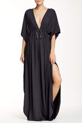 American Twist Dolman Sleeve Maxi Dress