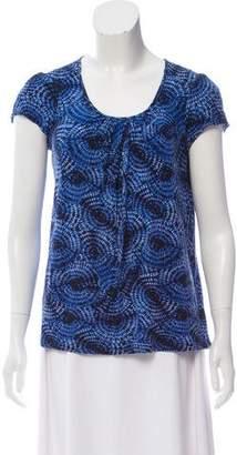 MICHAEL Michael Kors Tie-Dye Print Top
