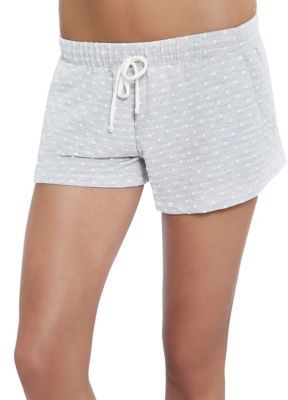Eberjey Flynn Heathered Shorts $51 thestylecure.com