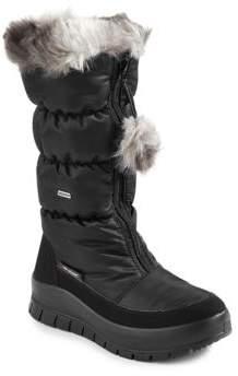 Pajar Toboggan Faux Fur-Trimmed Boots