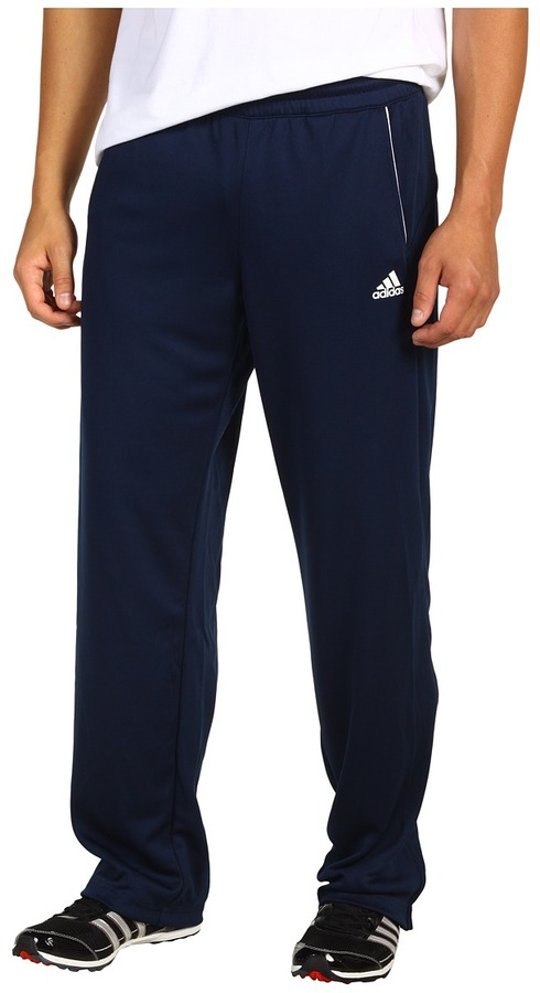 adidas Tennis Essentials Warm-Up Pant (Collegiate Navy/White) - Apparel