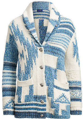 Polo Ralph Lauren Southwestern Shawl Cardigan $398 thestylecure.com