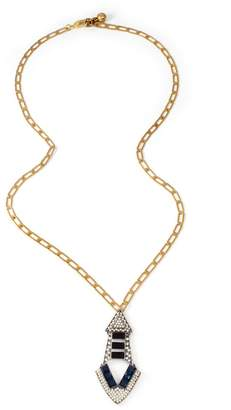 Lulu Frost Emergence Long Pendant Necklace - Gold Chain