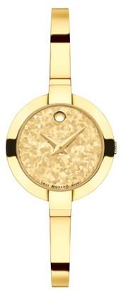 Women's Movado Bela Bracelet Watch, 28Mm $695 thestylecure.com