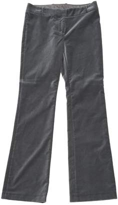 Non Signé / Unsigned Non Signe / Unsigned Grey Velvet Trousers