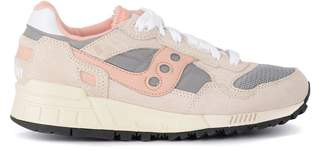 Saucony Shadow 5000 Vintage Pink And Grey Suede And Fabric Sneaker