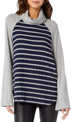 Michael Stars Madison Stripe Cowl Neck Top