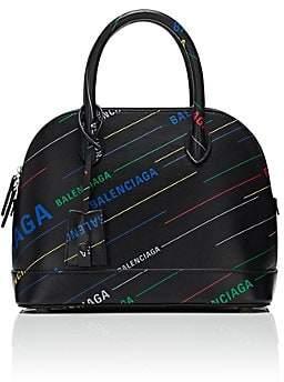 Balenciaga Women's Ville Small Leather Bowling Bag