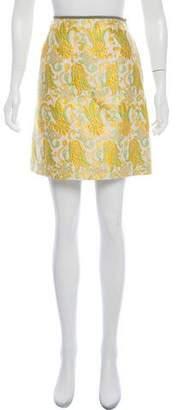Prada Jacquard MinI Skirt