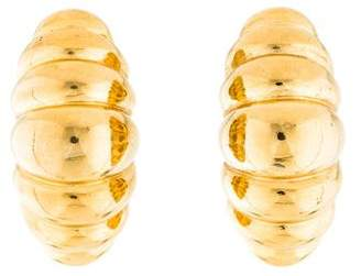 Givenchy Ribbed Earrings