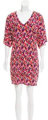 Trina Turk Printed Dolman Dress