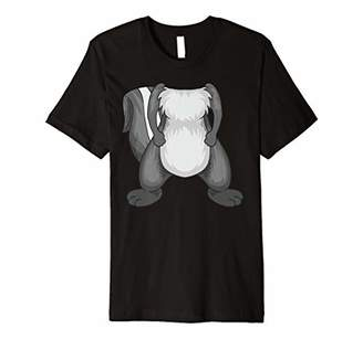 Cool Funny No Head Skunk Halloween Costume Shirt Easy Gift