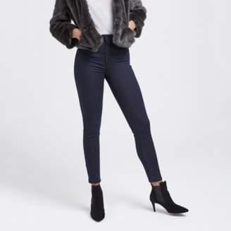 The White Company Chester High-Waist Super-Skinny Jeans, Blue Indigo, 6