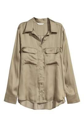 H&M Shirt - Dark gray - Women