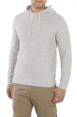 UNIONBAY Men's Drawcord Henley Sweater Hoodie