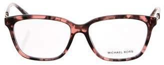 Michael Kors Square Embellished Eyeglasses
