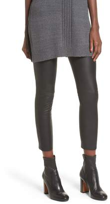 David Lerner Gemma High Waist Faux Leather Leggings