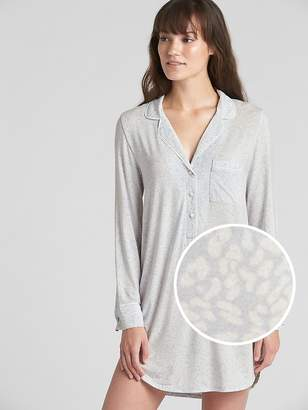 Gap Sleep Shirtdress in Modal