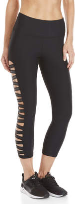 90 Degree By Reflex Side Ladder Cutout Leggings