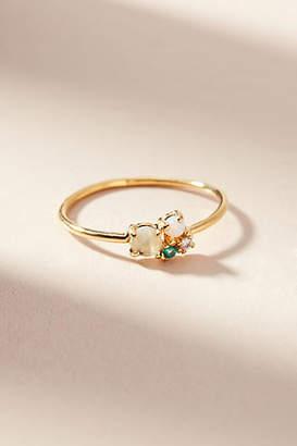 Anthropologie Matilda Cluster Ring