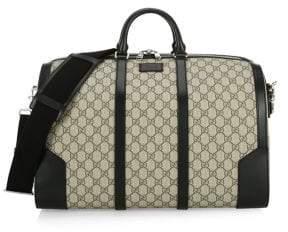 Gucci Logo Monogram Duffle Bag