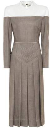 Fendi Wool-blend midi dress