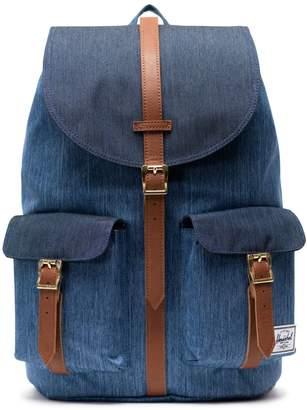 Herschel Logo Denim Backpack