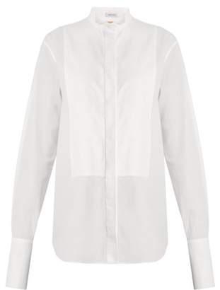 Summa - Wingtip Collar Cotton Poplin Shirt - Womens - White