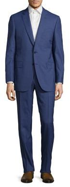 Canali Mini Hound Wool Suit $1,995 thestylecure.com