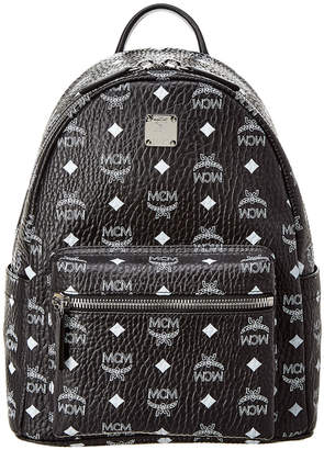 MCM Stark Logo Small Visetos Backpack