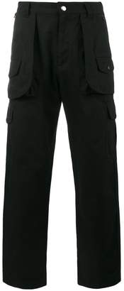 White Mountaineering hunting cargo pants