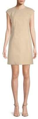 Theory Stretch Cotton Sheath Dress