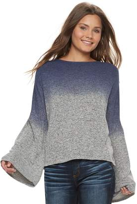 Grayson Threads Juniors' Hatchi Bell Sleeve Top