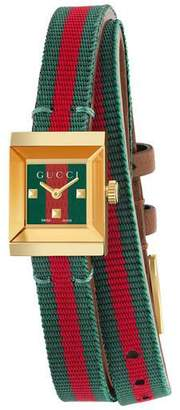 Gucci G-Frame watch 14x18mm