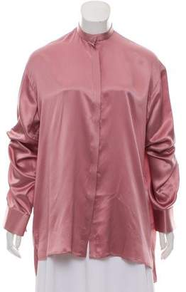 Haider Ackermann Oversize Silk Top w/ Tags