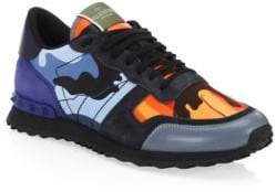 Valentino Rockrunner Multicolor Camouflage Sneakers