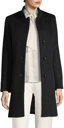 Cinzia Rocca Women's Welted Pocket Long Coat