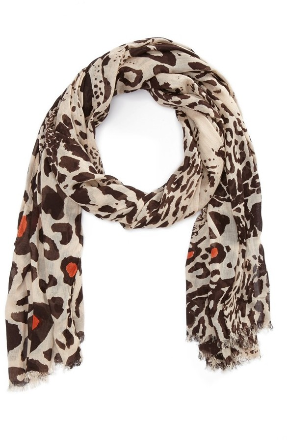 Bindya Lulla Collection by 'Dancing Leopard' Scarf