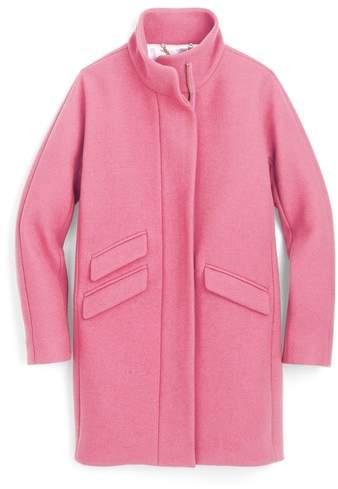 J. CREW J.Crew Stadium Cloth Cocoon Coat
