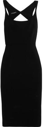 Narciso Rodriguez - Cutout Stretch-crepe Dress - Black $1,895 thestylecure.com