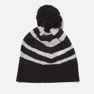 Paul Smith Women's Zebra Hat - Black