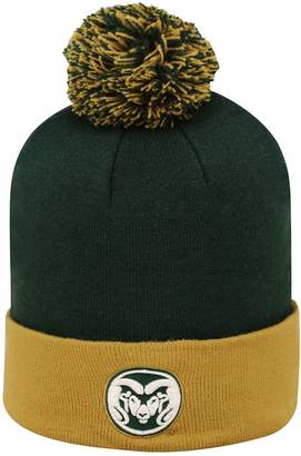 Top of the World Adult Colorado State Rams Pom Knit Hat