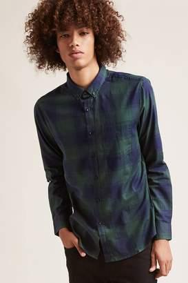Forever 21 Cotton Plaid Shirt