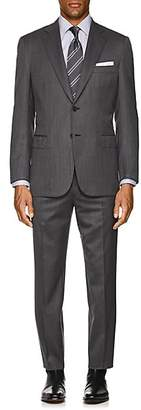Brioni Men's Brunico Wool Two-Button Suit - Gray