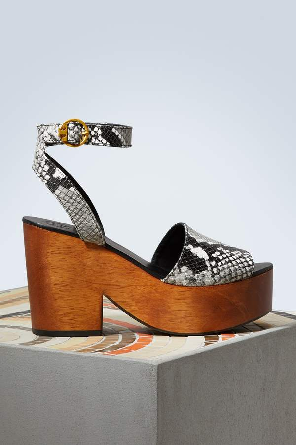 Tory Burch Leather Camilla sandals